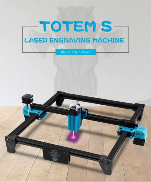TWO TREES TOTEM S 40W Laser Engraving Machine Frame