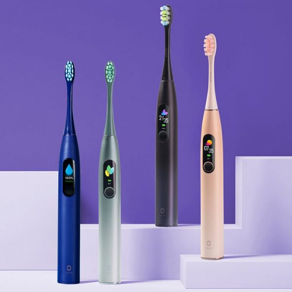 Oclean X PRO Sonic Electric Toothbrush 32 Levels IPX7 Waterproof