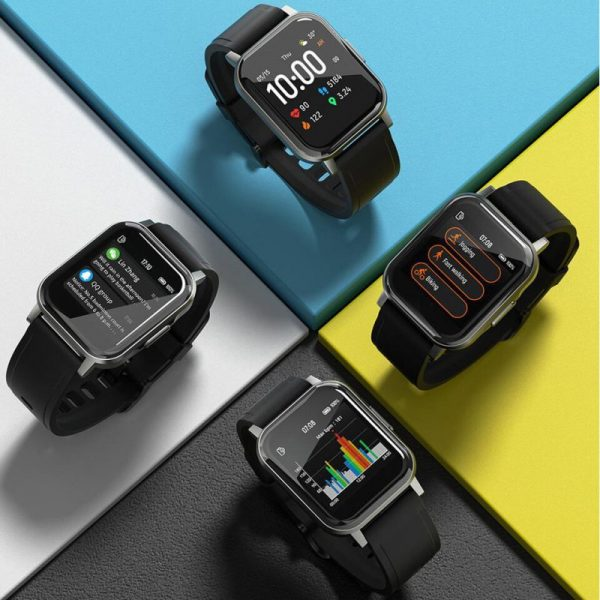Haylou LS02 1.4inch Ture Color Large Screen 320ppi Resolution Smartwatch