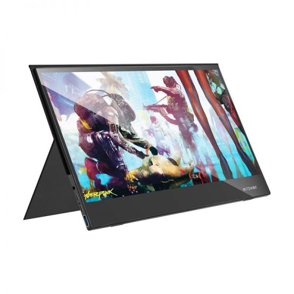 BlitzWolf BW-PCM6 17.3 Inch Touchable 1080P Type-C Monitor