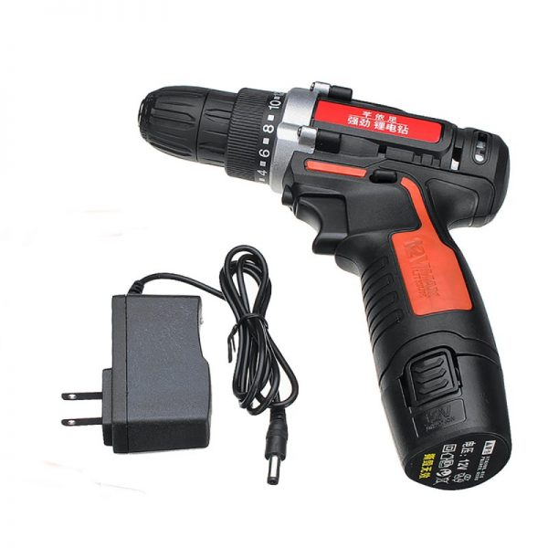 12V 2 Speed Electric Drill