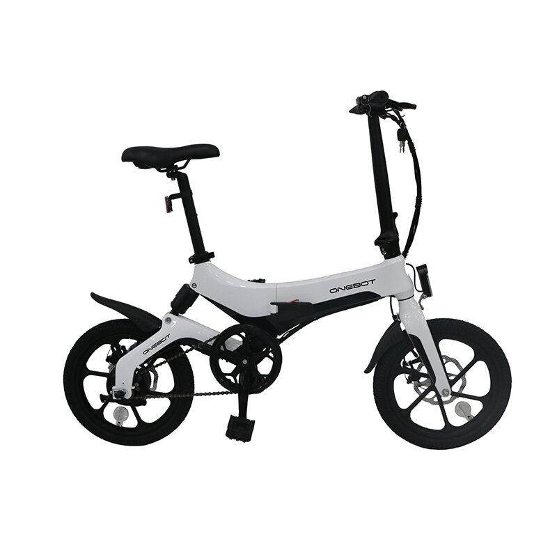 ONEBOT S6 6.4Ah 36V 250W 16inch Folding Moped Bicycle
