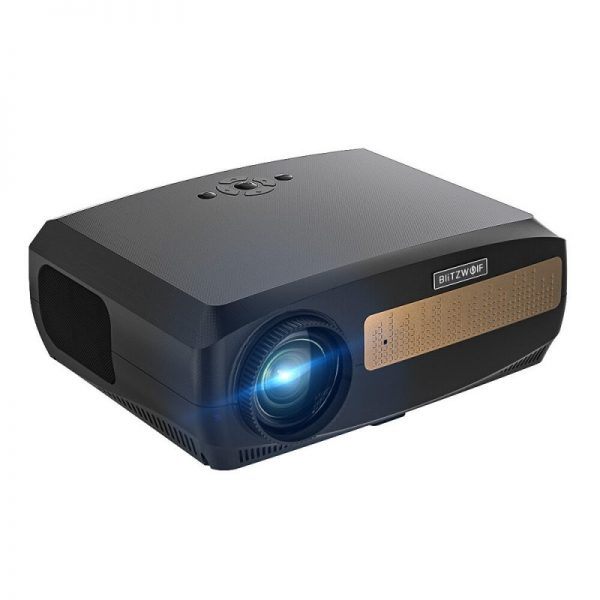 BlitzWolf BW-VP9 Android 9.0 LCD Portable Projector Full HD Native 1920×1080 Pixels 6500 Lumens
