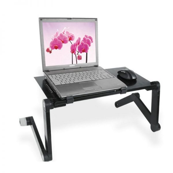Adjustable Laptop Desk Laptop stand Portable Foldable Stand Bed Tray Laptop